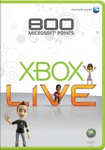 AU Xbox Live Points 800