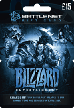 Blizzard Battle.net Gift Card £15 GBP