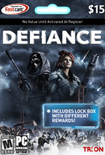 Defiance Game Card $15