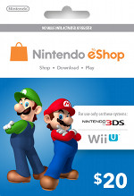 Nintendo eShop $20 Card
