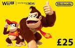 UK Nintendo eShop £25 GBP Card