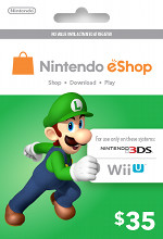 Nintendo eShop $35 Card
