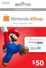 Nintendo eShop $50 Card