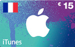 FR iTunes €15 Gift Card French