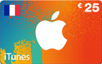 FR iTunes €25 Gift Card French