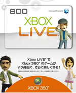 Japanese Xbox Live Points 800