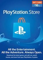 US Playstation Store Gift Card $10