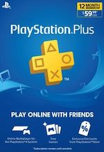 US PlayStation Plus 1 Year Subscription