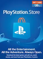 US Playstation Store Gift Card $20