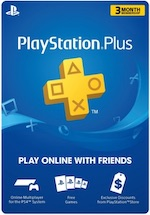 US PlayStation Plus 90 Day Subscription