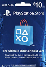 USA PSN $10 Card