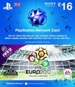 UK PSN Card 16 GBP