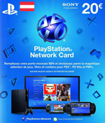 AT PSN Card 20 EURO (Austria)