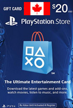 Canadian PSN Card $20
