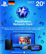 DE PSN Card 20 EURO (Germany)
