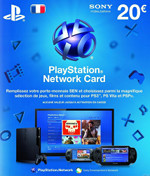 French PSN Card 20 EURO