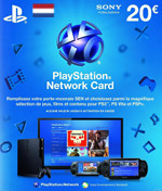 Netherlands PSN Card 20 EURO