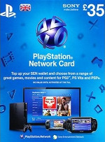 UK PSN Card 35 GBP