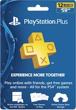 UK PlayStation Plus 1 Year Subscription