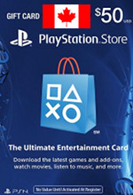 Canadian PSN Card $50