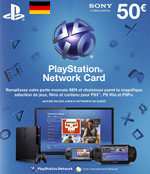 DE PSN Card 50 EURO (Germany)