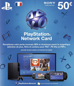 French PSN Card 50 EURO