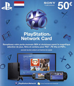 Netherlands PSN Card 50 EURO