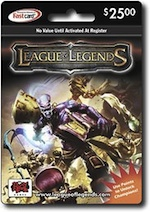 RIOT - League of Legends $25 Card