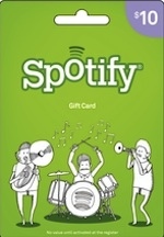Spotify $10 Gift Card