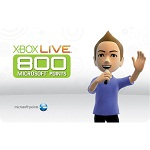 USA Xbox Live Points 800