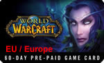 EU Warcraft 60 Days Prepaid