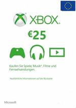 EU Xbox Live 25 EURO