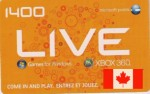 CA Xbox Live Points 1400