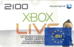 EU Xbox Live Points 2100