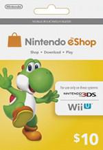 Nintendo eShop $10 Card