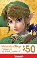 Nintendo eShop Gift Card $50
