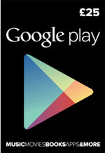 UK Google Play £25 Gift Card
