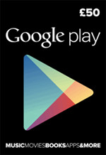 UK Google Play £50 Gift Card