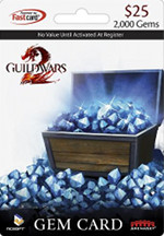 NCSOFT - Guild Wars 2 Gem Card $25