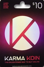 Nexon Game Card / Karma Koin $10