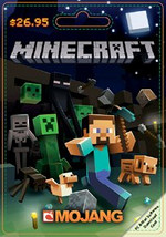 Mojang Minecraft $26.95 Game Card