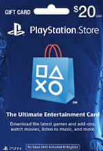 USA PSN $20 Card