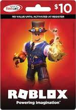 Roblox Game Card $10
